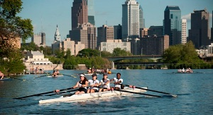 Rowing in Philly